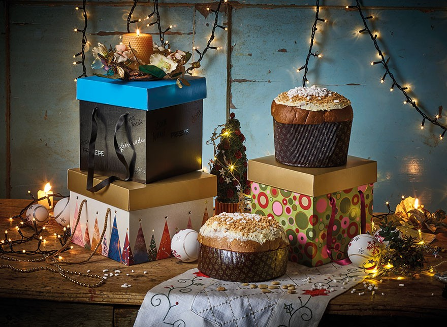 Portapanettone Quadrato Offset