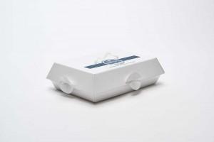 Bombonette Portapaste Blanc Plastificata